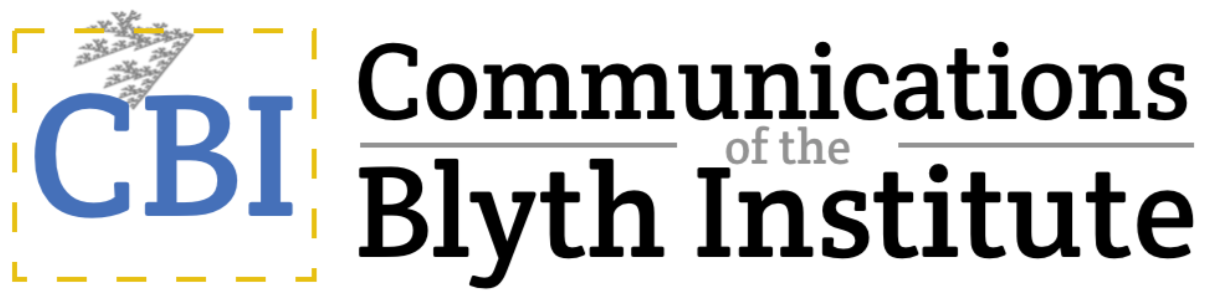 Communications of the Blyth Institute